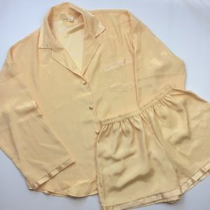 VICTORIA'S SECRET Warm Yellow Pajama Set